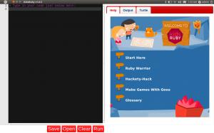 KidsRuby on Ubuntu